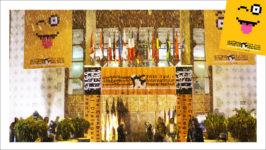 رو در رو با عوامل اجرایی در کاخ جشنواره