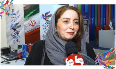 ژاله صامتی در کاخ رسانه