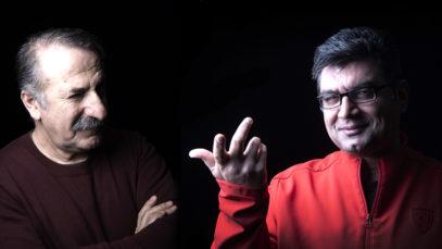 مهران رجبی و علی عطشانی