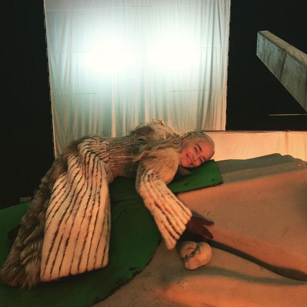 ستارگان بازی تاج و تخت در پشت صحنه