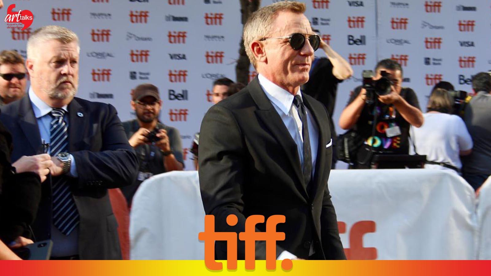 دنیل کریج در جشنواره فیلم تورنتو