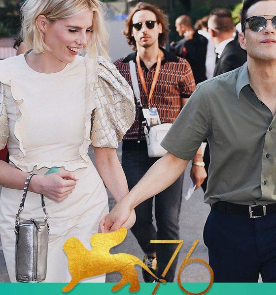 رامی مالک در جشنواره فیلم ونیز