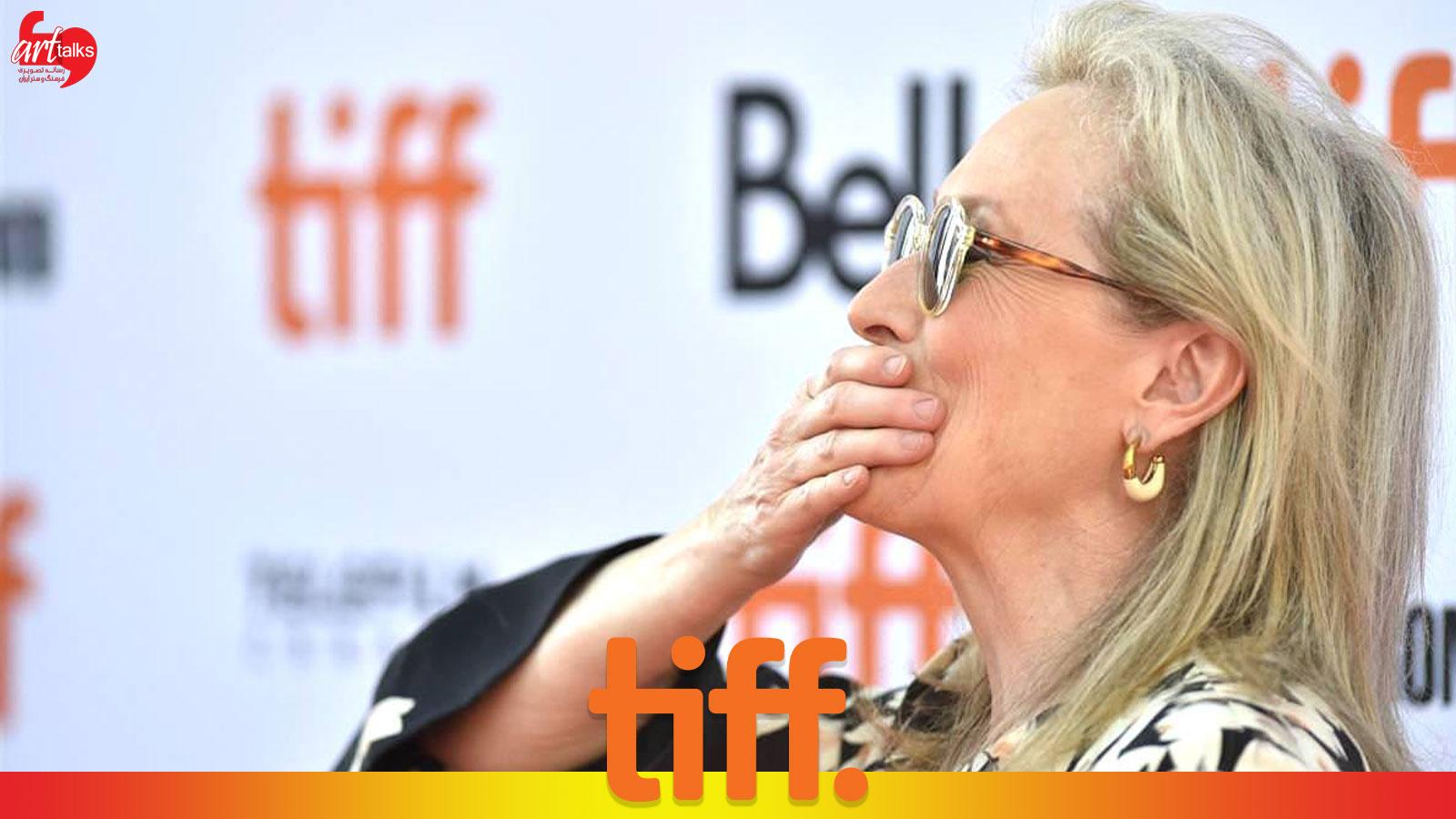 مرلی استریپ در جشنواره فیلم تورنتو