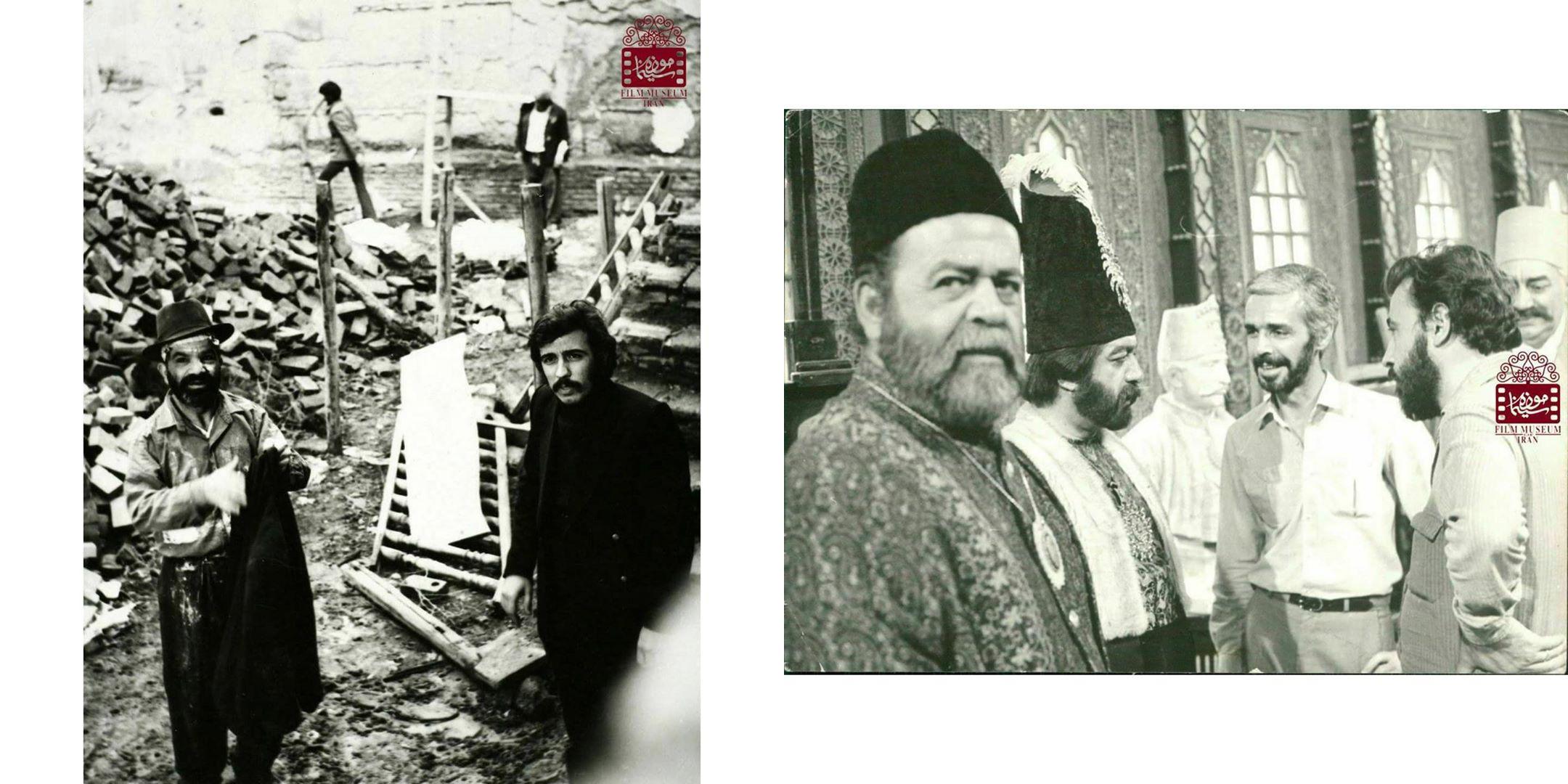 عکسهای کمتر دیدهشده از علی حاتمی در پشتصحنه فیلمها (بخش اول) | منبع: تاریخی موزه سینمای ایران