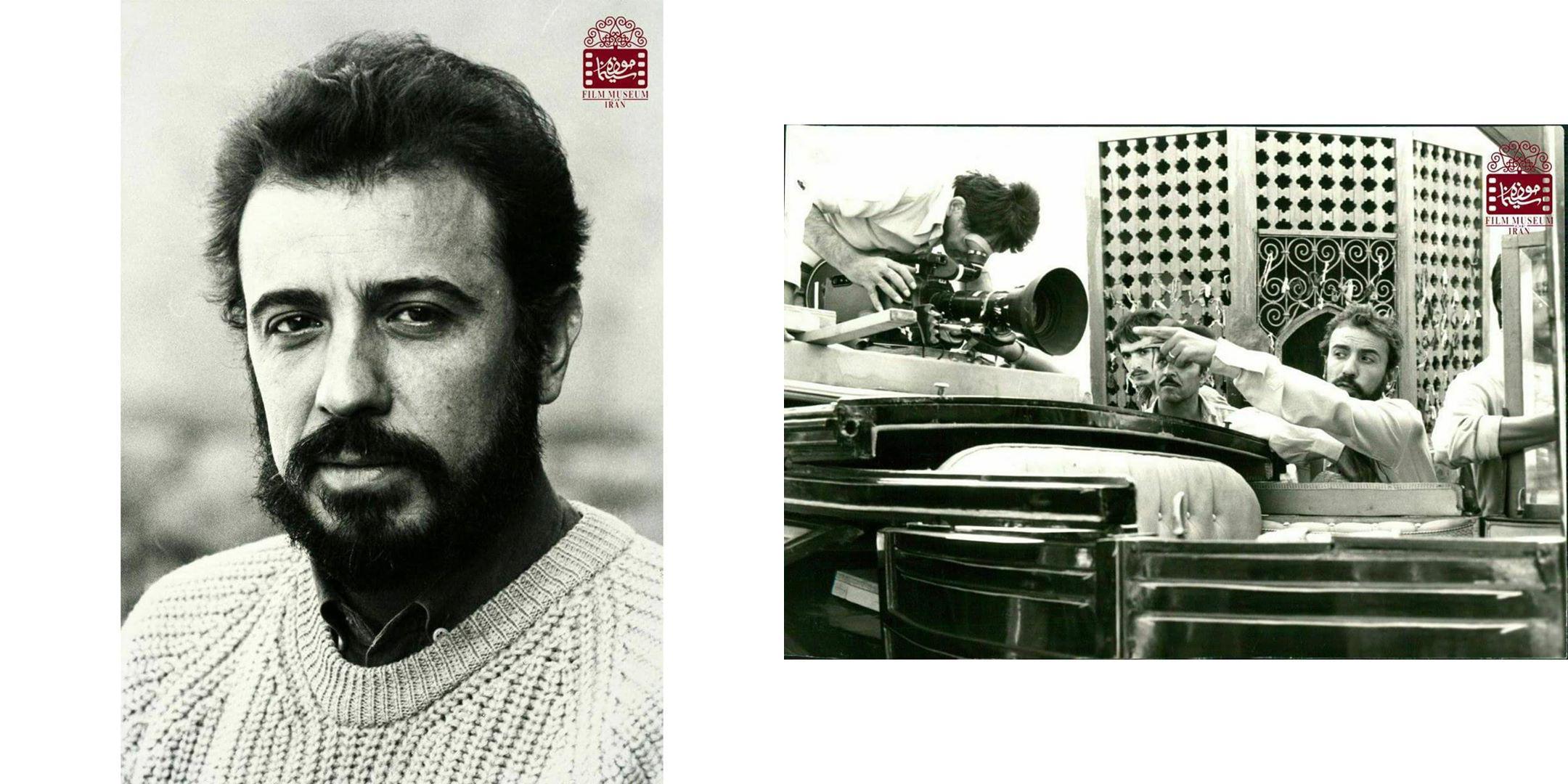 عکسهای کمتر دیدهشده از علی حاتمی در پشتصحنه فیلمها (بخش دوم) | منبع: تاریخی موزه سینمای ایران