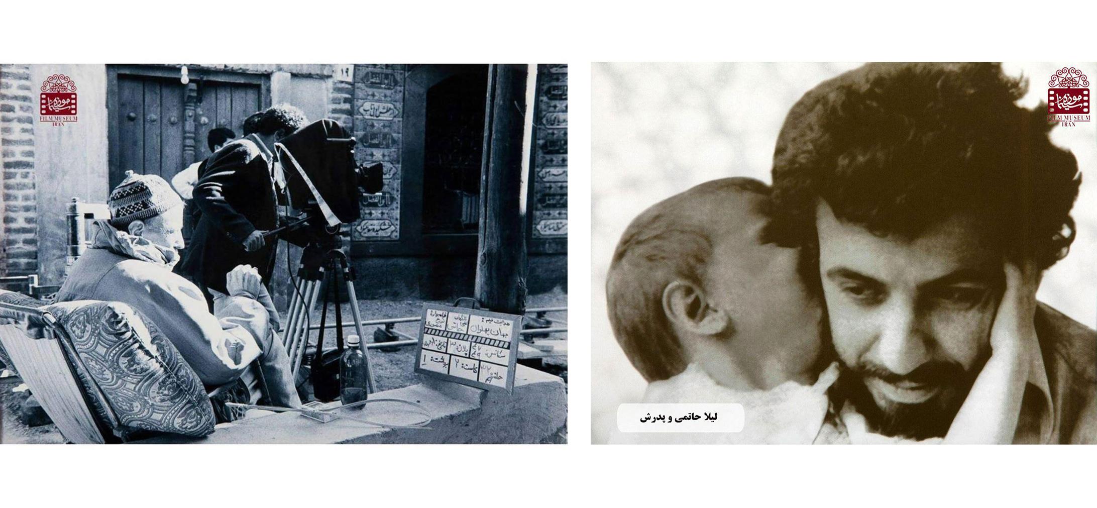 عکسهای کمتر دیدهشده از علی حاتمی در پشتصحنه فیلمها (بخش سوم) | منبع: تاریخی موزه سینمای ایران