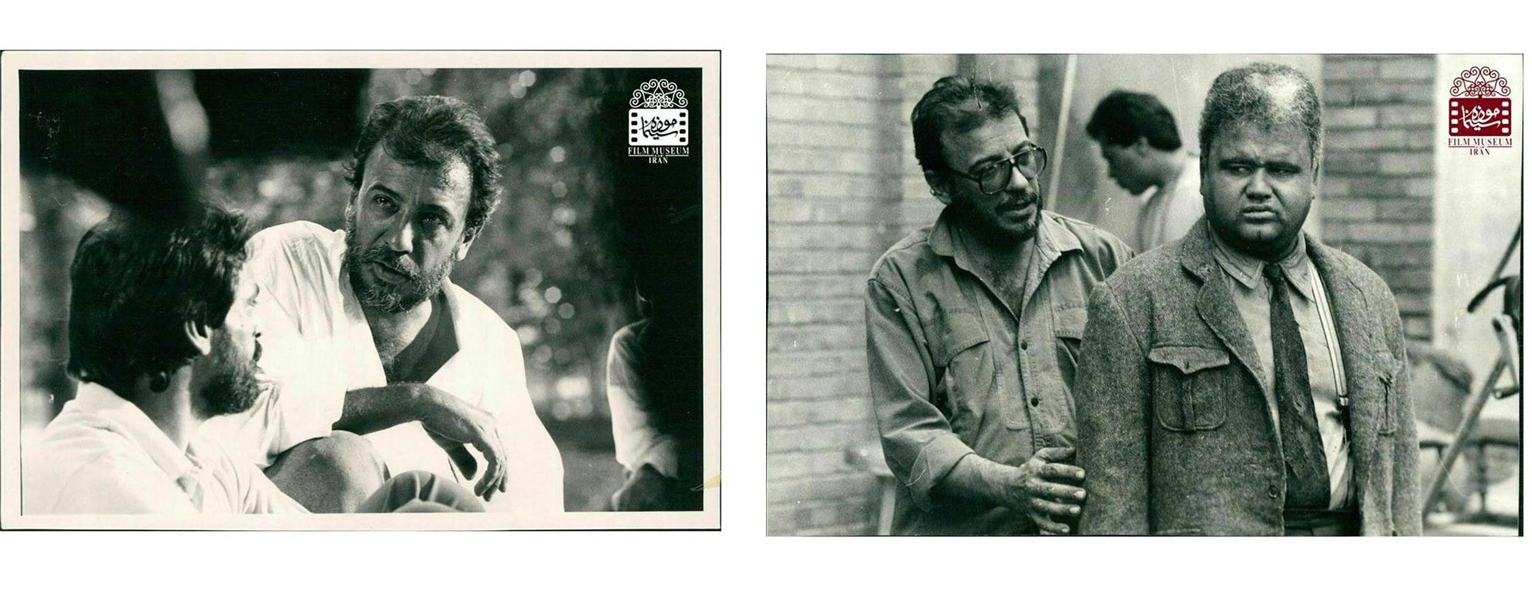 عکسهای کمتر دیدهشده از علی حاتمی در پشتصحنه فیلمها (بخش چهارم) | منبع: تاریخی موزه سینمای ایران