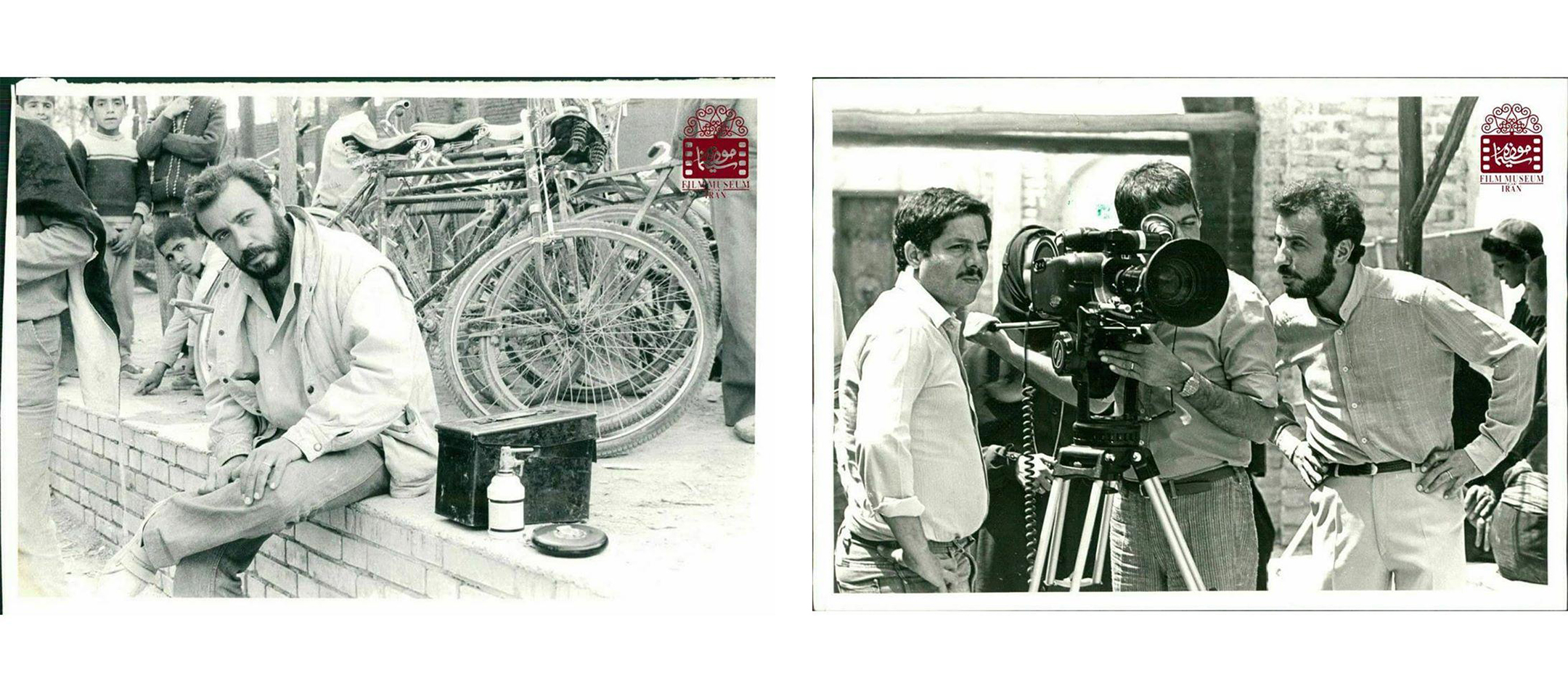 عکسهای کمتر دیدهشده از علی حاتمی در پشتصحنه فیلمها (بخش پنجم) | منبع: تاریخی موزه سینمای ایران
