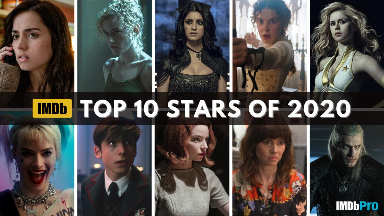 برترین ستارگان سینما در سال ۲۰۲۰